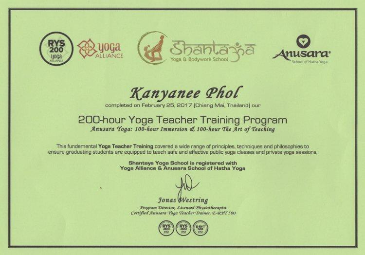 Tak Kanyanee Tak Yoga