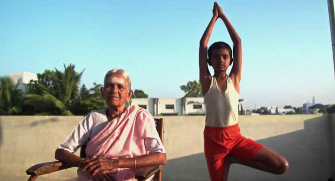 Nanammal Amma - The oldest Yoga teacher of the world